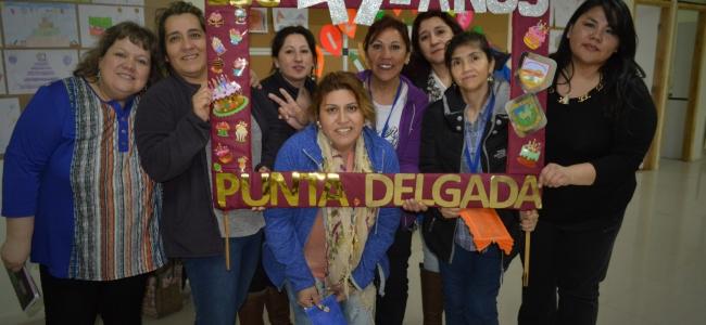 Encuentro de ex-estudiantes de la escuela Punta Delgada
