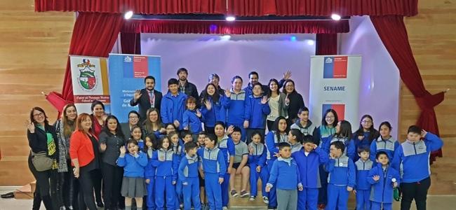 Inicio de Clases en Escuela Punta Delgada